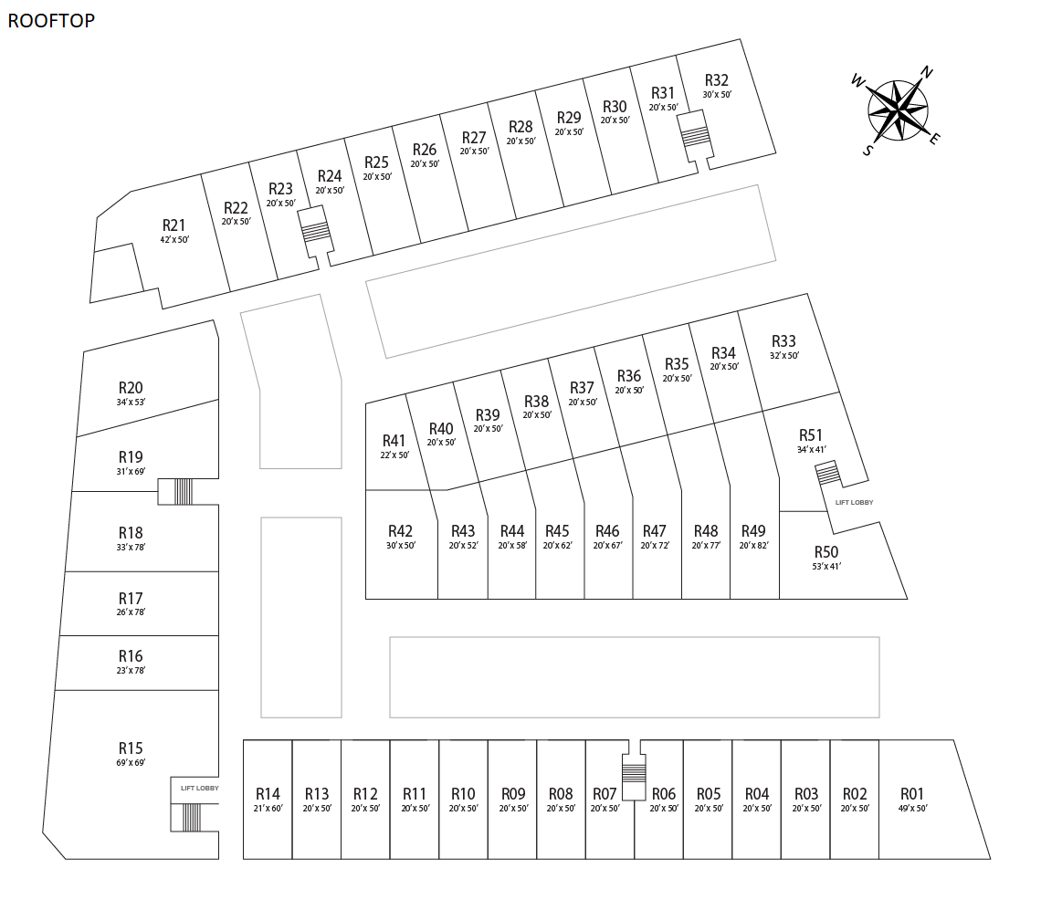 Layout Plan - Rooftoop